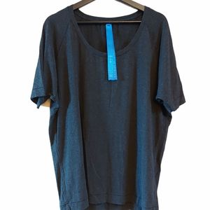 Kit and Ace short sleeve oversize boat neck t shir